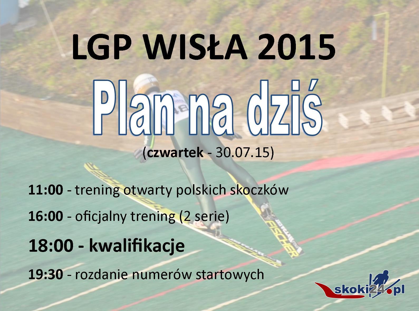 LGP 15 wisla Plan na dziś czwartek nowe