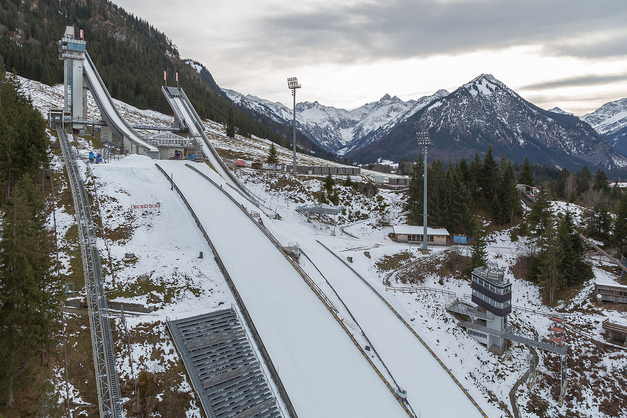Oberstdorf-Germany-Skisprungschanze-