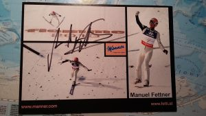 Autograf Manuela Fettnera 1