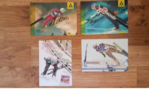 Autografy polskich skoczkow narciarskich1