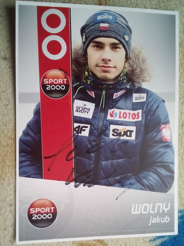 Jakub Wolny autograf