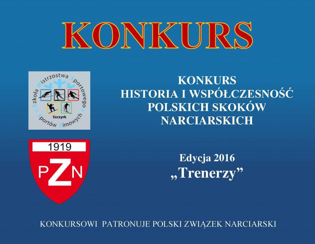 Konkurs Historia i współczesność polskich skoków narciarskich