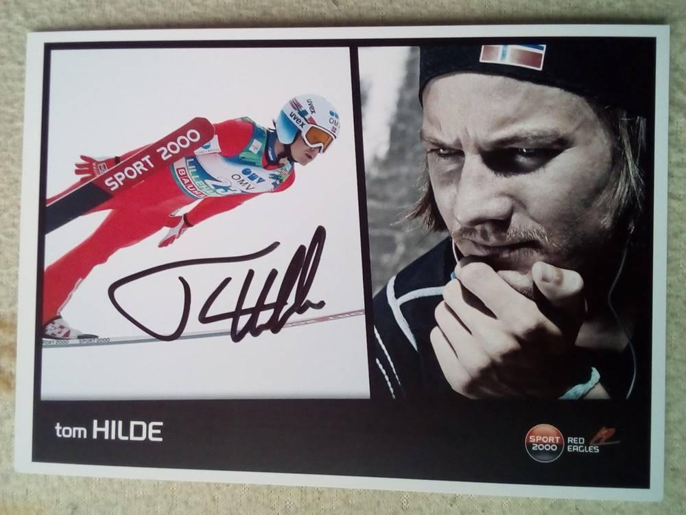 autograf Tom Hilde