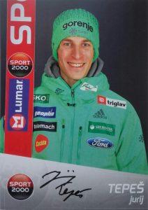 Autograf Jurij Tepes