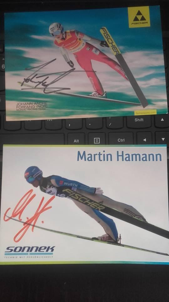 Autograf Forfanga i Hamanna - wymiana autografów