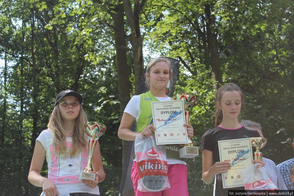 Paulina Cieślar na najwyższym stopniu podium