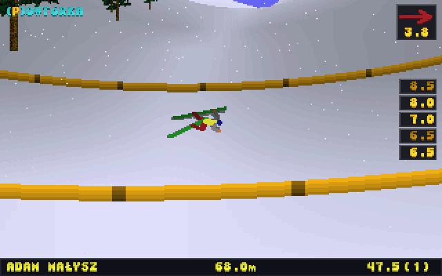 deluxe ski jump historia